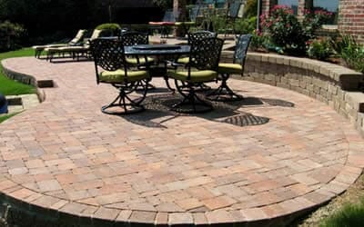 Pavers patio