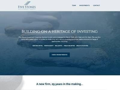 Five Stones Investment Group website screenshot