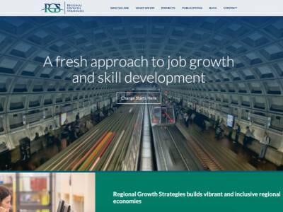 Regional Growth Strategies website screenshot