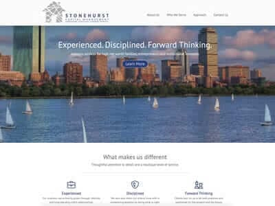 Stonehurst Capital website screenshot thumbnail
