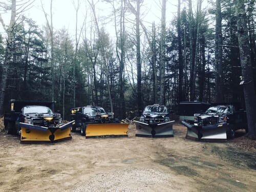 Tuxedo Landscaping snow removal equipment